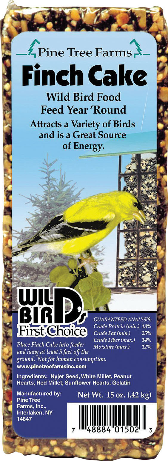 Pine Tree Farms Inc - Wild  Bird's First Choice Seed Cake