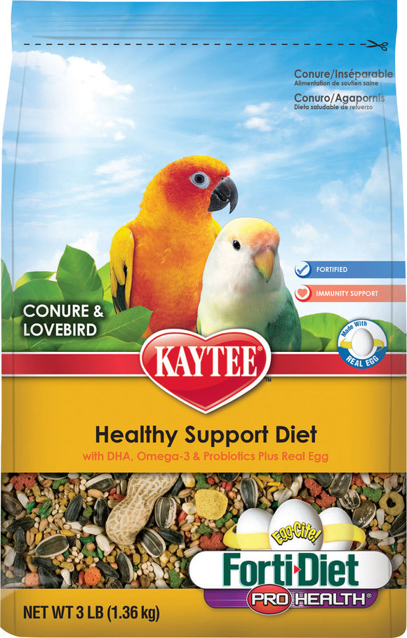 Kaytee Products Inc - Forti-diet Pro-health Egg-cite Conure/lovebird Fd