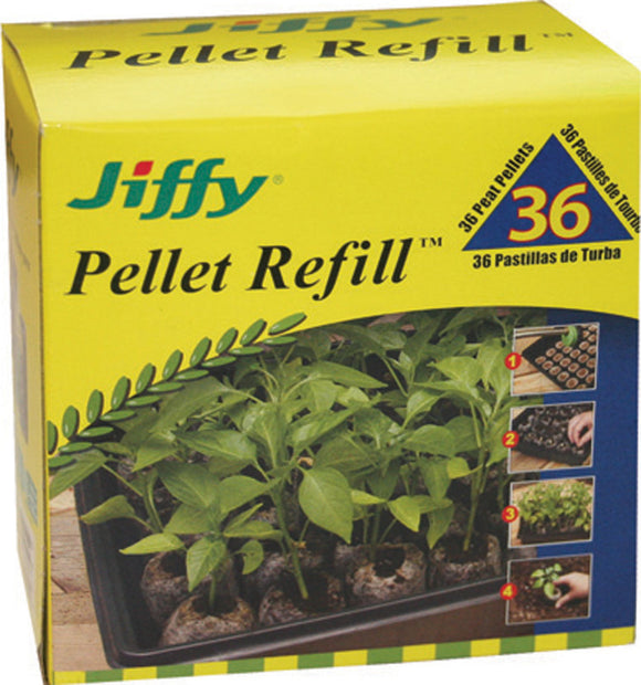 Jiffy/ferry Morse Seed Co - Peat Pellet Refill