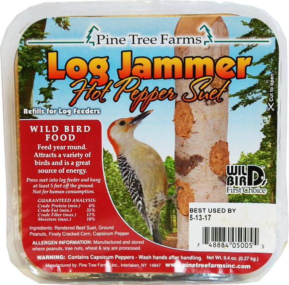 Pine Tree Farms Inc - Log Jammers Suet Plugs