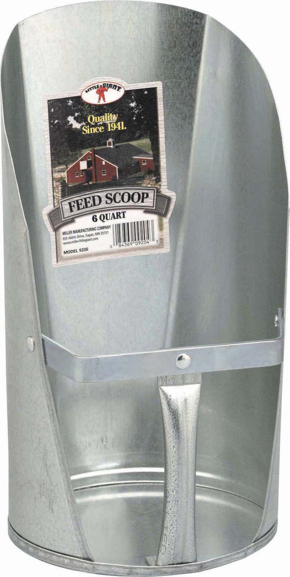 Miller Mfg Co Inc       P - Little Giant Galvanized Feed Scoop