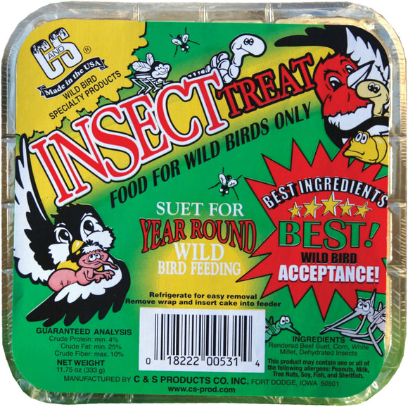 C And S Products Co Inc P - Insect Treat Suet