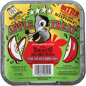 C And S Products Co Inc P - Apple Treat Suet