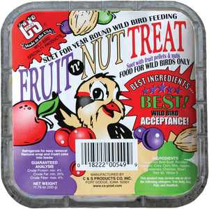 C And S Products Co Inc P - Fruit N' Nut Treat Suet