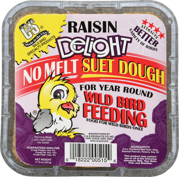 C And S Products Co Inc P - Raisin Delight Suet