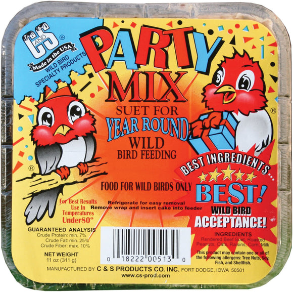 C And S Products Co Inc P - Party Mix Suet