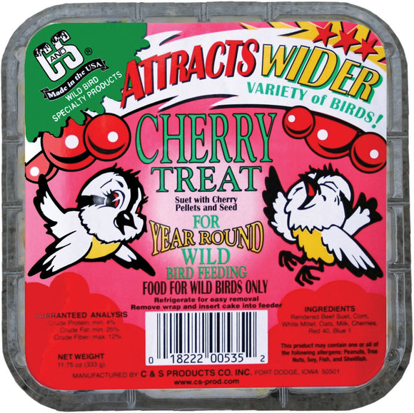 C And S Products Co Inc P - Cherry Treat Suet
