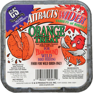 C And S Products Co Inc P - Orange Treat Suet