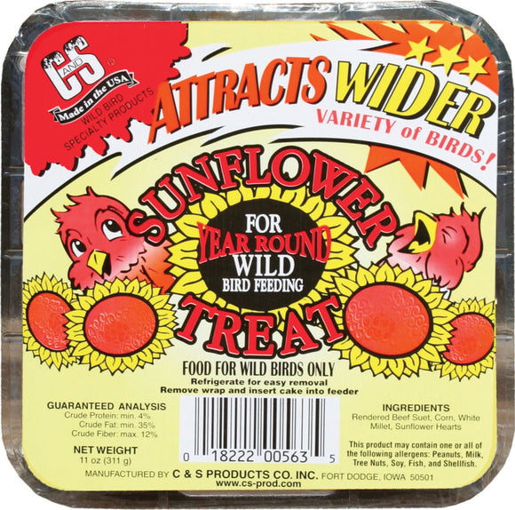C And S Products Co Inc P - Sunflower Treat Suet