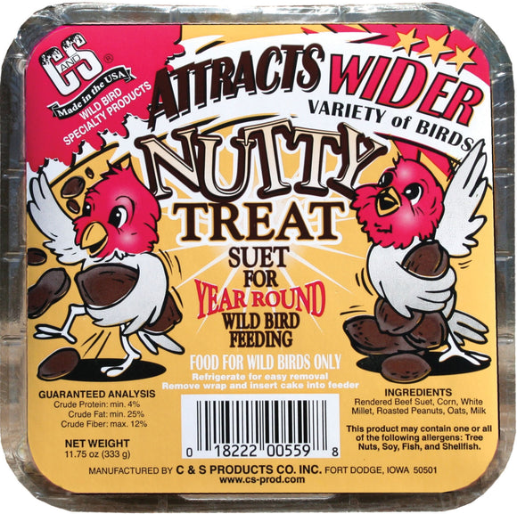 C And S Products Co Inc P - Nutty Treat Suet