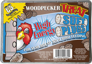 C And S Products Co Inc P - Woodpecker Treat Suet Plug