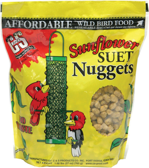 C And S Products Co Inc P - Suet Nuggets
