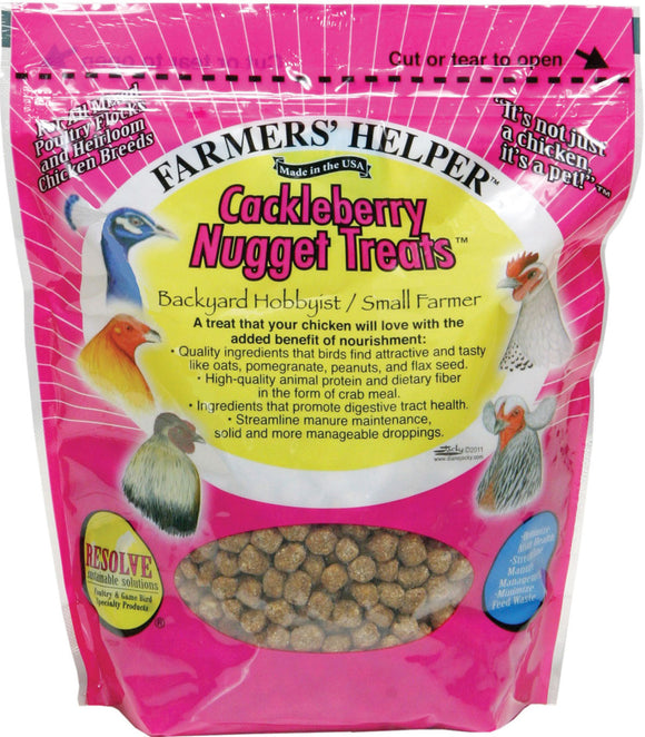 C And S Products Co Inc P - Farmer's Helper Cackleberry Nugget Treats