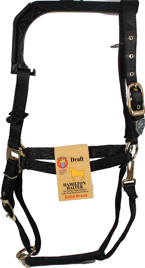Hamilton Halter Company - 1-inch Adjustable Chin Strap Halter With Snap