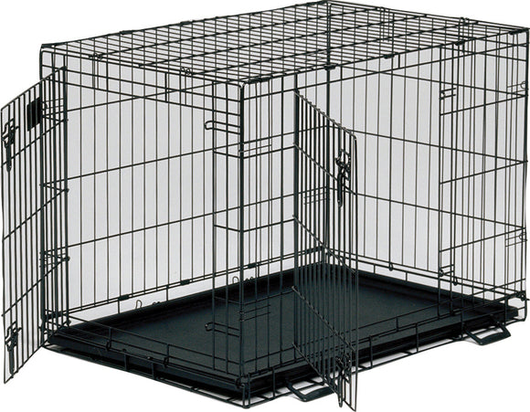 Midwest Container - Life Stages 2dr Crate W/panel