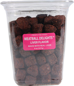 Triumph Pet Industries - Meatball Delights Dog Treats