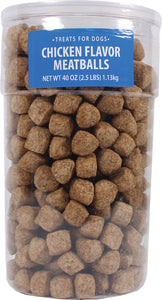 Triumph Pet Industries - Meatballs Chicken Treats For Dogs