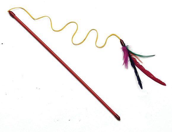 Ethical Cat - Feather Dangler With Wand