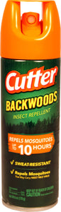 Spectracide - Cutter Backwoods Insect Repellent Aerosol