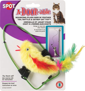 Ethical Cat-A-door-able Bouncing Feather Bird