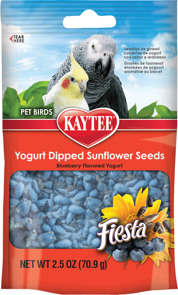 Kaytee Products Inc - Fiesta Yogurt Dipped Sunflower Seeds