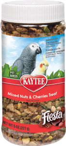 Kaytee Products Inc - Fiesta Mixed Nuts&cherries Treat Jar