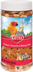 Kaytee Products Inc - Fiesta Papayapeanut&mango Treat Jar