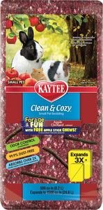 Kaytee Products Inc - Clean & Cozy Forage & Fun Apple Orchard