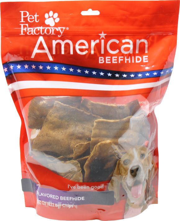 Pet Factory Inc - American Beefhide Chips