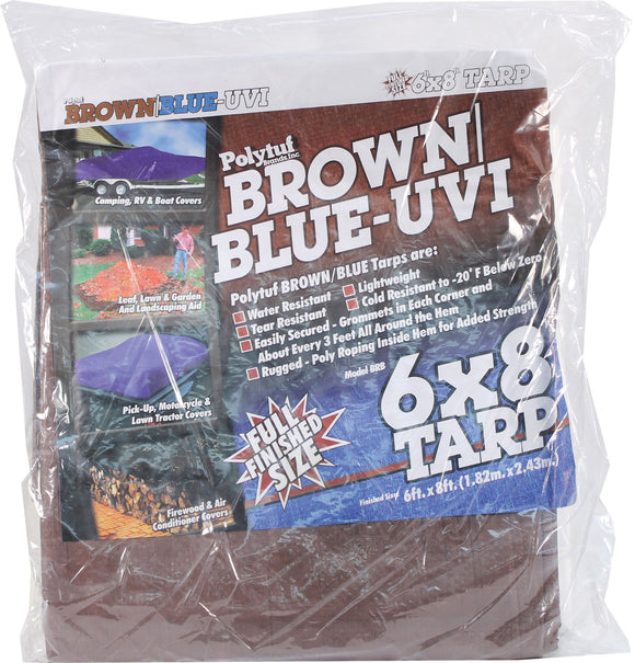 Dewitt Company          P - Brown/blue Tarps (3.1oz)