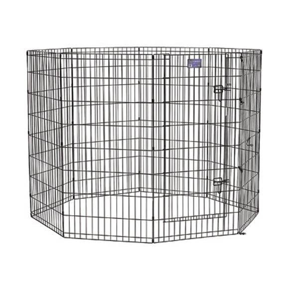 Midwest Container - Exercise Pen With Step-thru Door