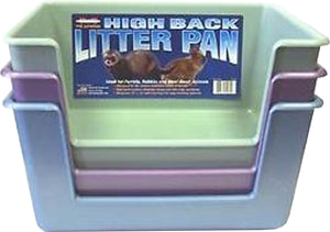 Marshall Pet Products - Ferret Hi-back Litter Pan