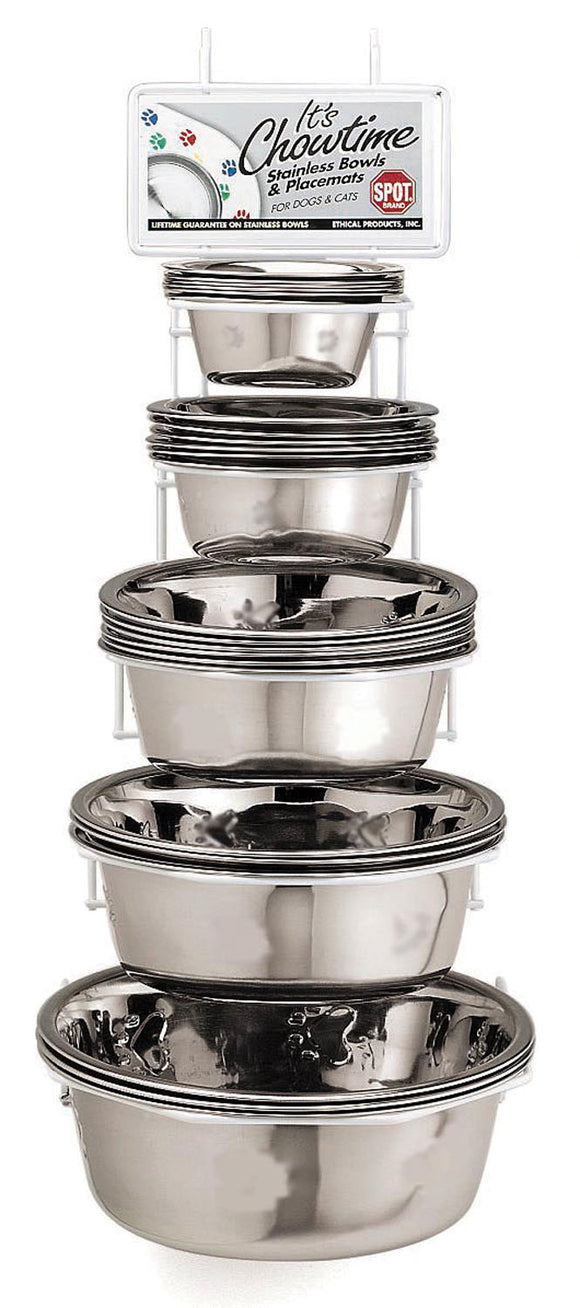 Ethical Ss Dishes - Stainless Steel Mirror Finish Dish Assortment