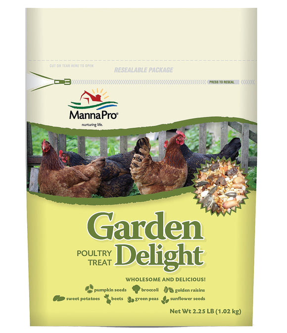 Manna Pro-farm - Garden Delight Poultry Treat