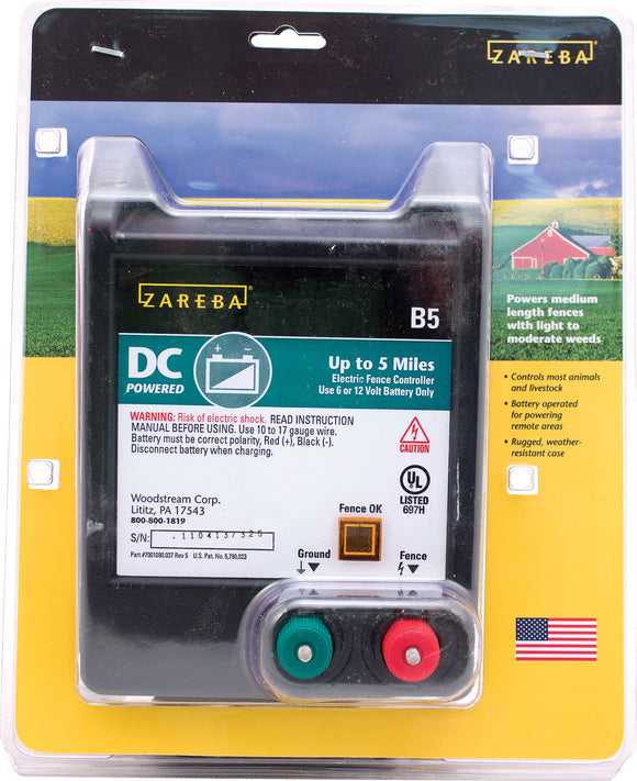 Woodstream Zareba - Zareba Battery Operated Solid State Fence Charger