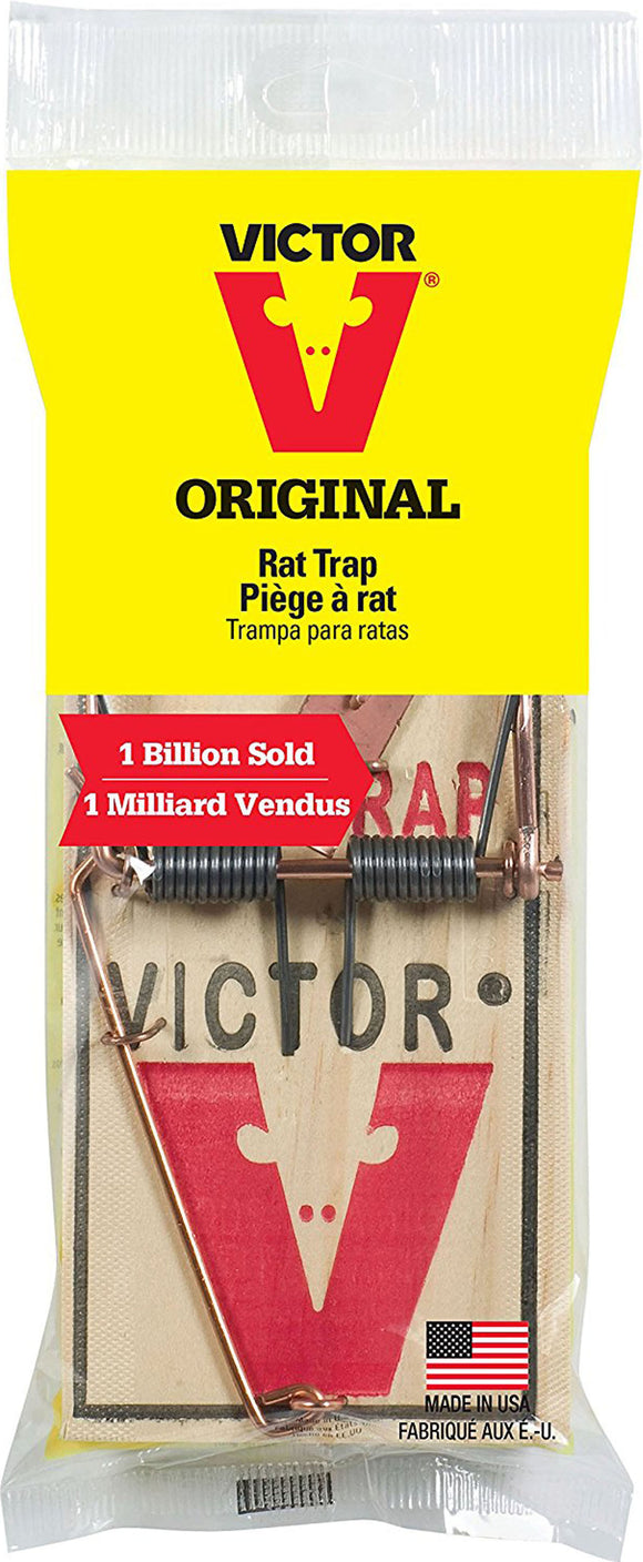 Woodstream Victor Rodnt D-Victor Metal Pedal Rat Trap