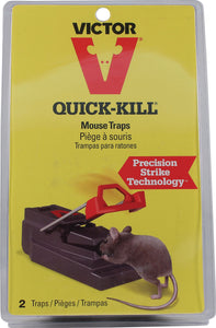 Woodstream Victor Rodnt D - Victor Quick-kill Mouse Trap