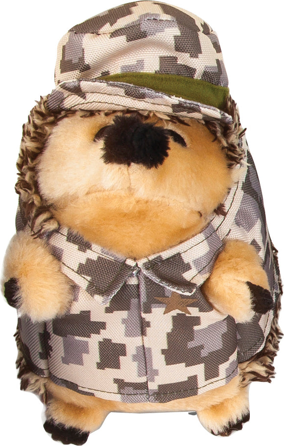 Petmate Inc-Heggie Army Dog Plush Dog Toy