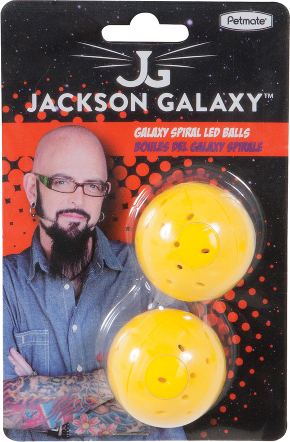 Petmate Inc - Jackson Galaxy Spiral Led Ball