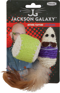 Petmate Inc - Jackson Galaxy Natural Playtime Mouse & Ball