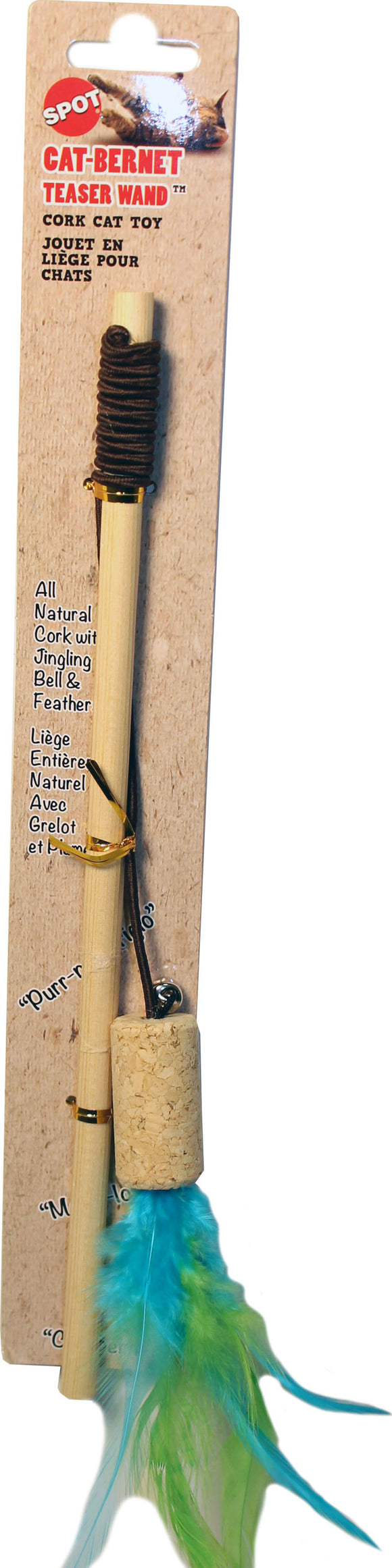 Ethical Cat - Cat-bernet Cork Teaser Wand