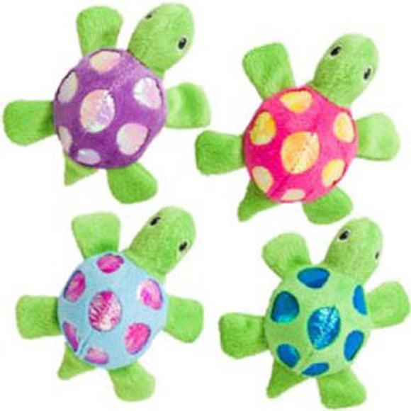 Ethical Cat - Shimmer Glimmer Turtle W/catnip Cat Toy