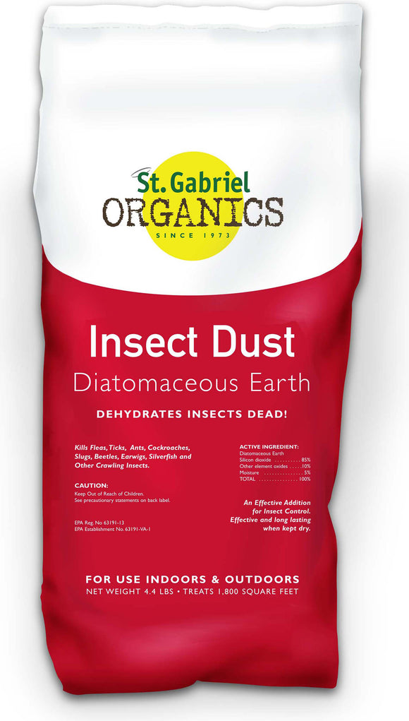 St Gabriel Organics - Insect Dust Diatomaceous Earth