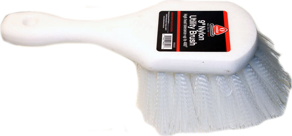 Hamburg/nexstep Comm Prod - Utility Brush Foam Handle Nylon Bristles