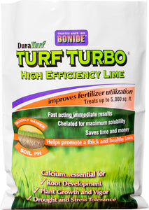 Bonide Fertilizer - Duraturf Turf Turbo High Efficiency Lime For Lawns