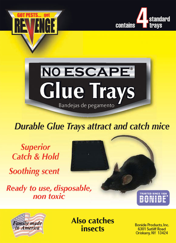 Bonide Products-revenge - Revenge Baited Glue Trays For Mice