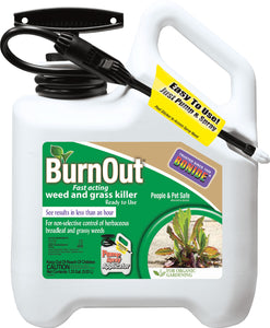Bonide Products Inc     P - Burnout Weed And Grass Killer Rtu Pump N Spray