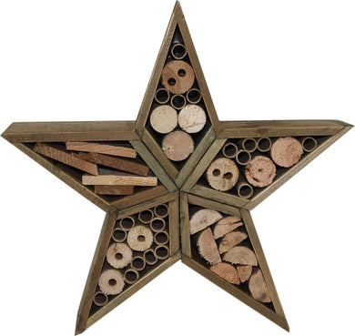 Audubon/woodlink - Rustic Farmhouse Star Insect House
