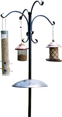 Audubon/woodlink - Four Way Bird Feeding Station W/squirrel Baffle