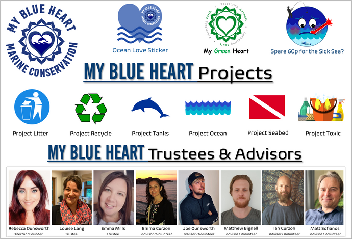 My Blue Heart's Projects
